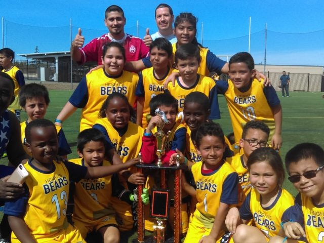 2nd 3rd Heights Bears Soccer Jamboree Champions
